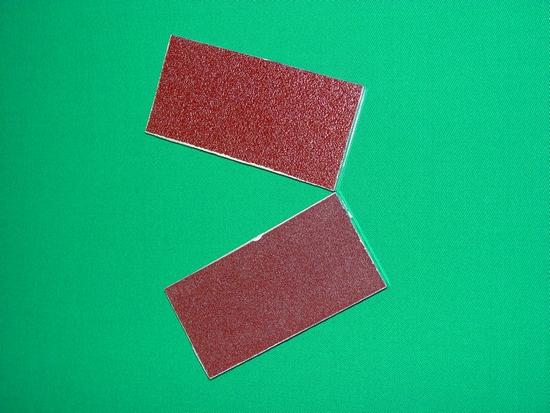 Alluminium schuurplankje
