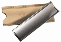 Swiss file + Pouch stainless steel