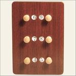Standard scorebord 3 players, small